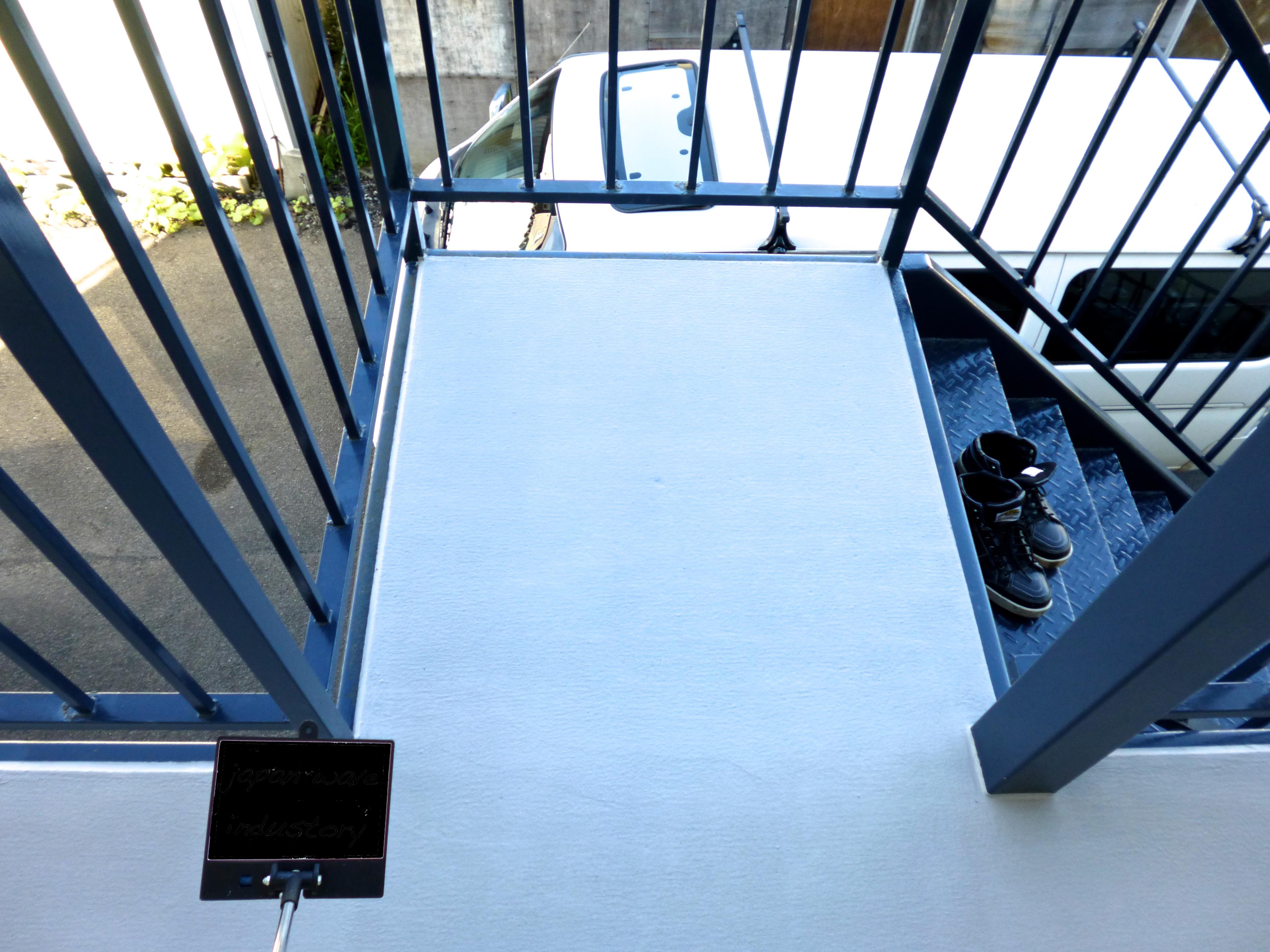 鉄骨階段|塗装|修繕|札幌|