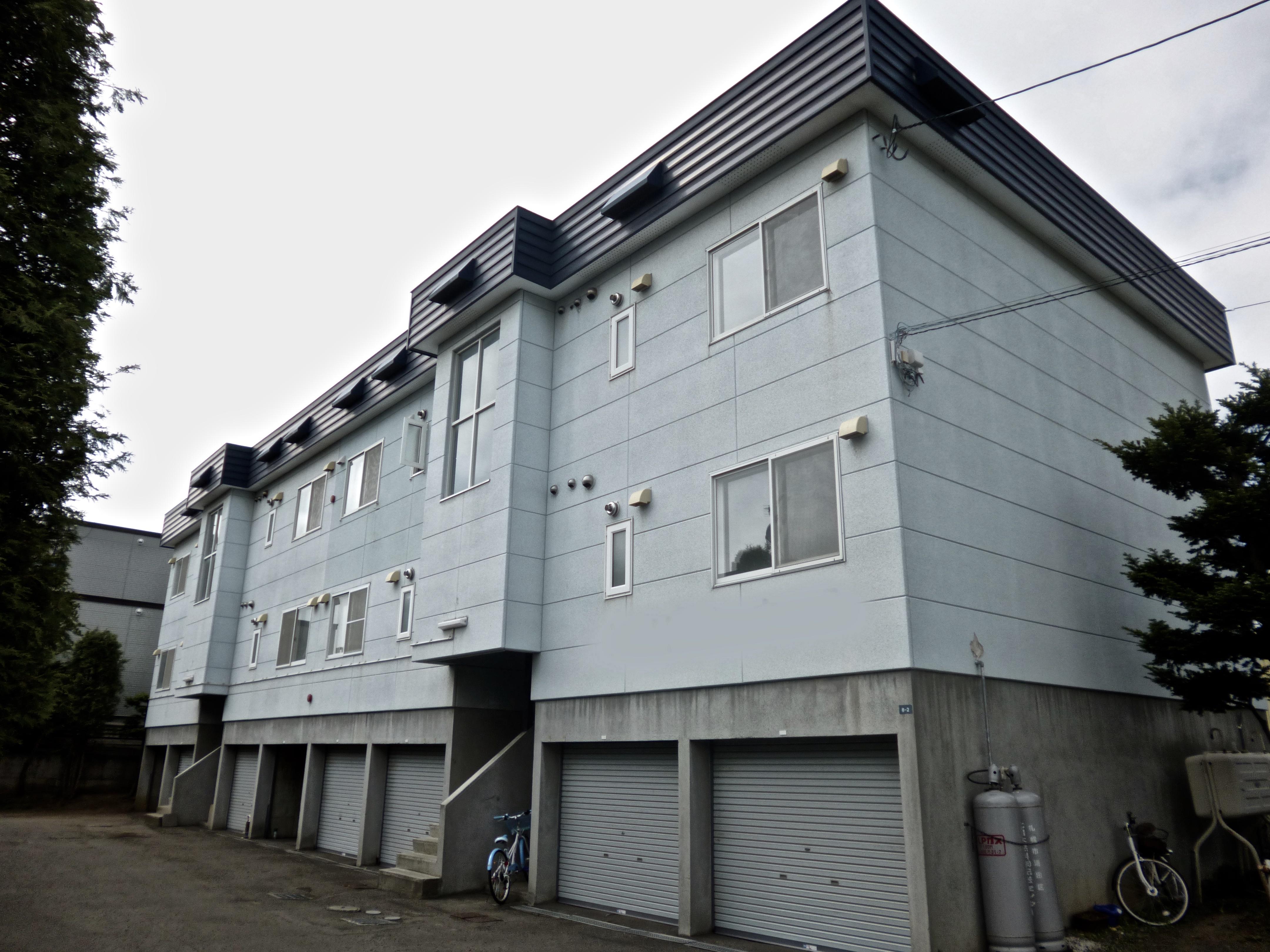 札幌市|アパートマンション|外壁塗装|施行前|