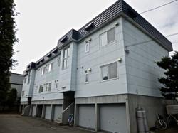 札幌市 アパートマンション 外壁塗装 施行前 
