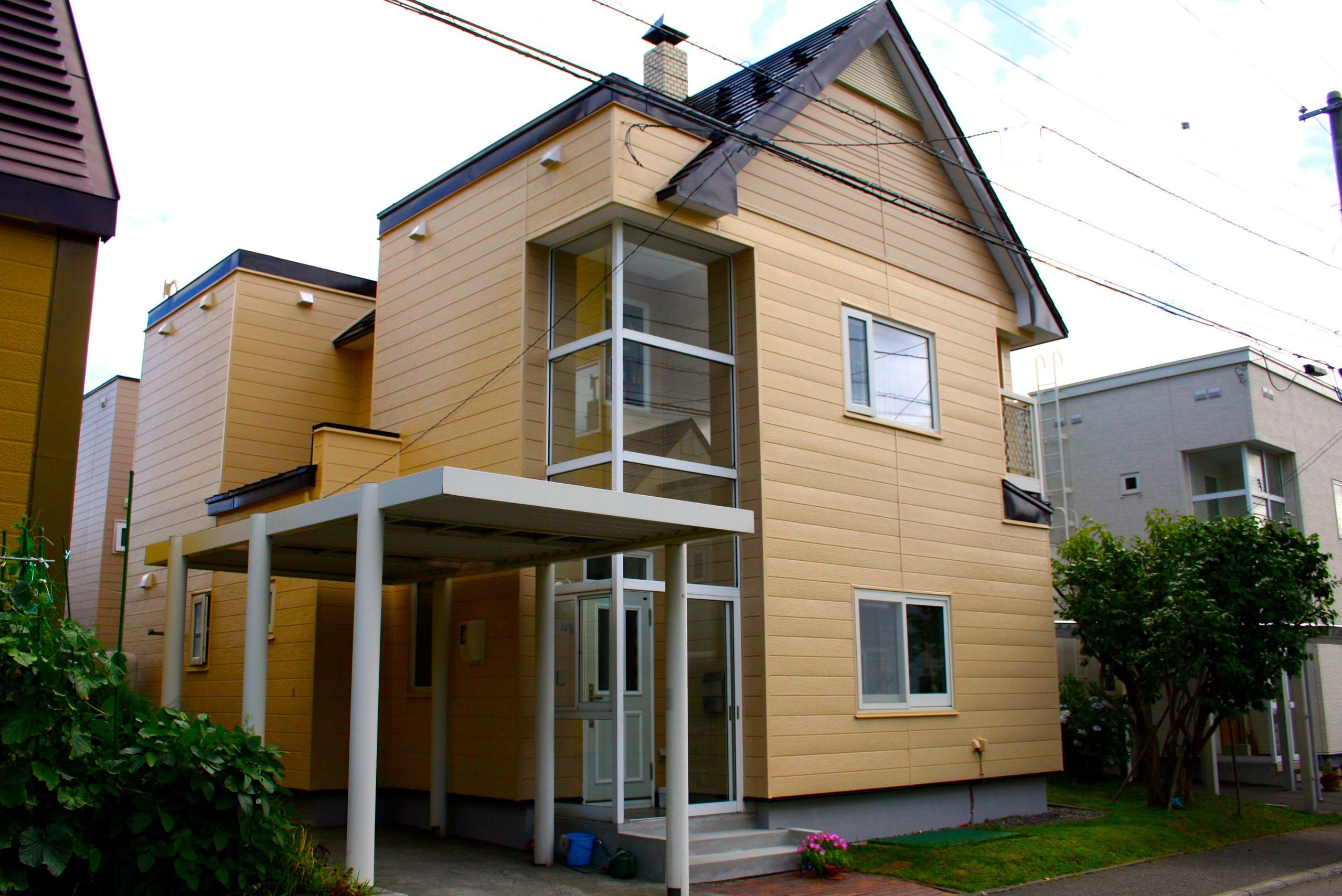 札幌市|外壁塗装|戸建|ビフォーアフター|