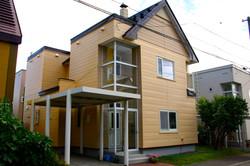 札幌市 外壁塗装 戸建 ビフォーアフター 
