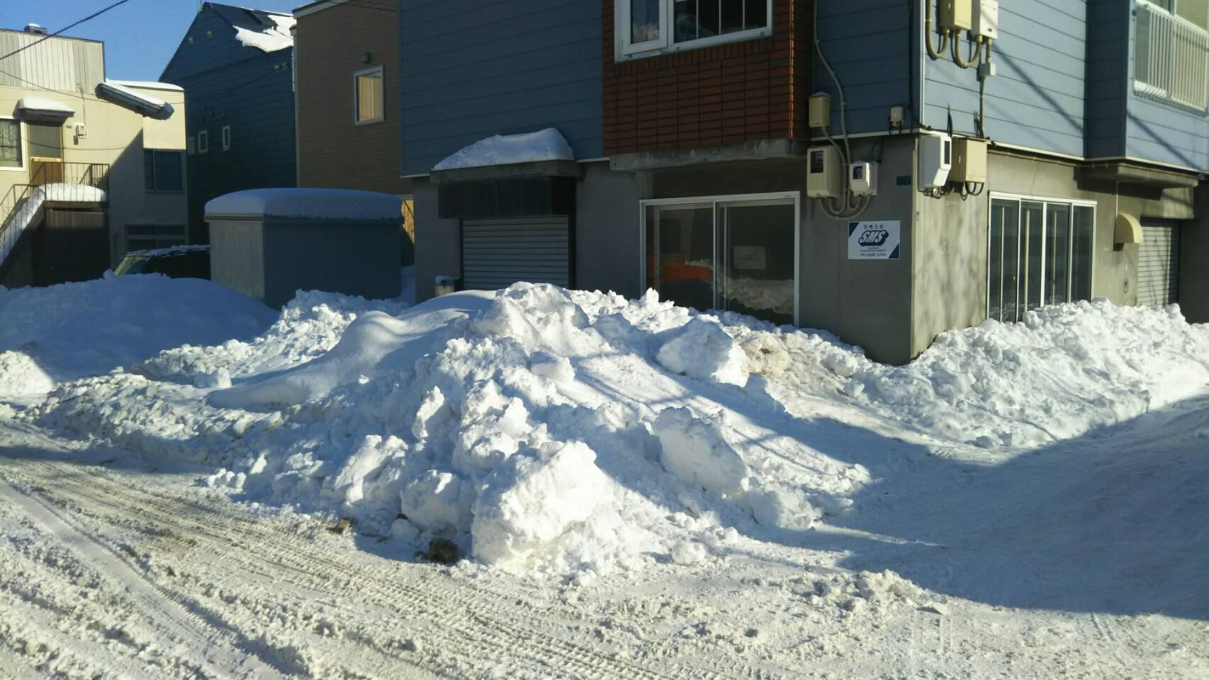 除排雪|札幌市|白石区