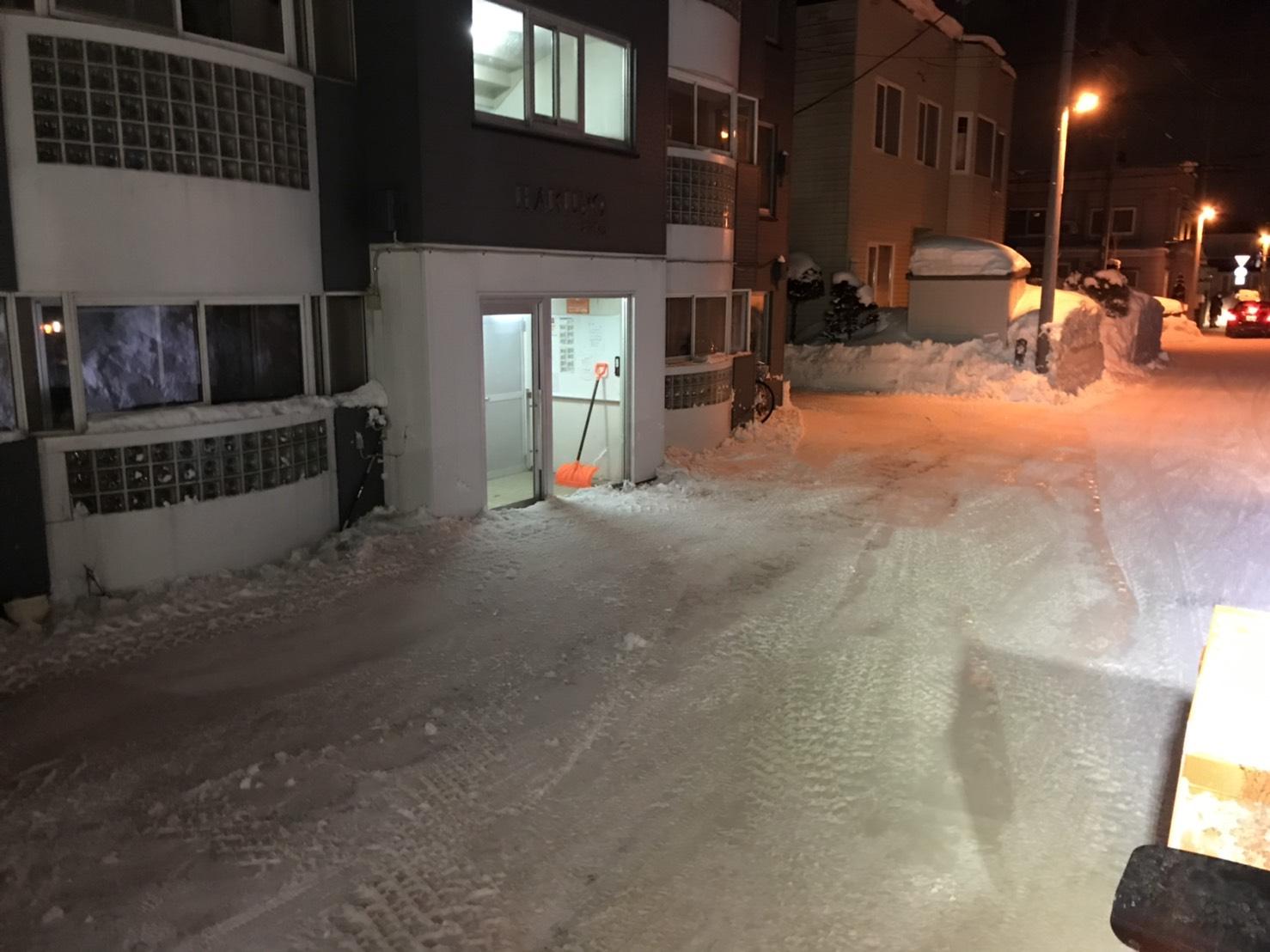 シーズン排雪|シーズン除排雪