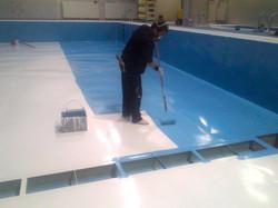 札幌市 プール 塗装 工事 