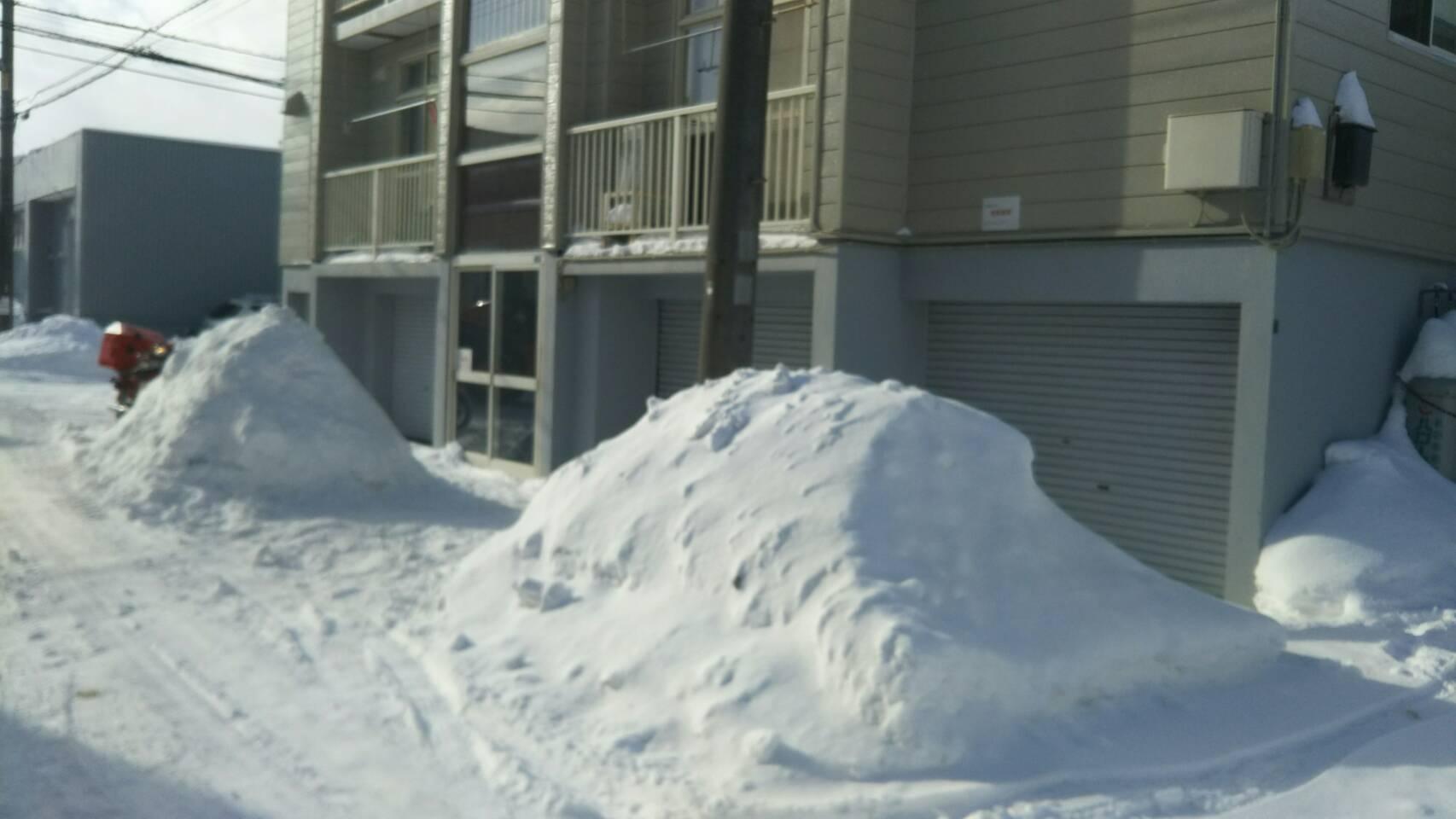 雪かき|札幌|排雪