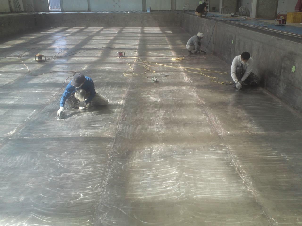 プール|修繕|塗装|札幌|