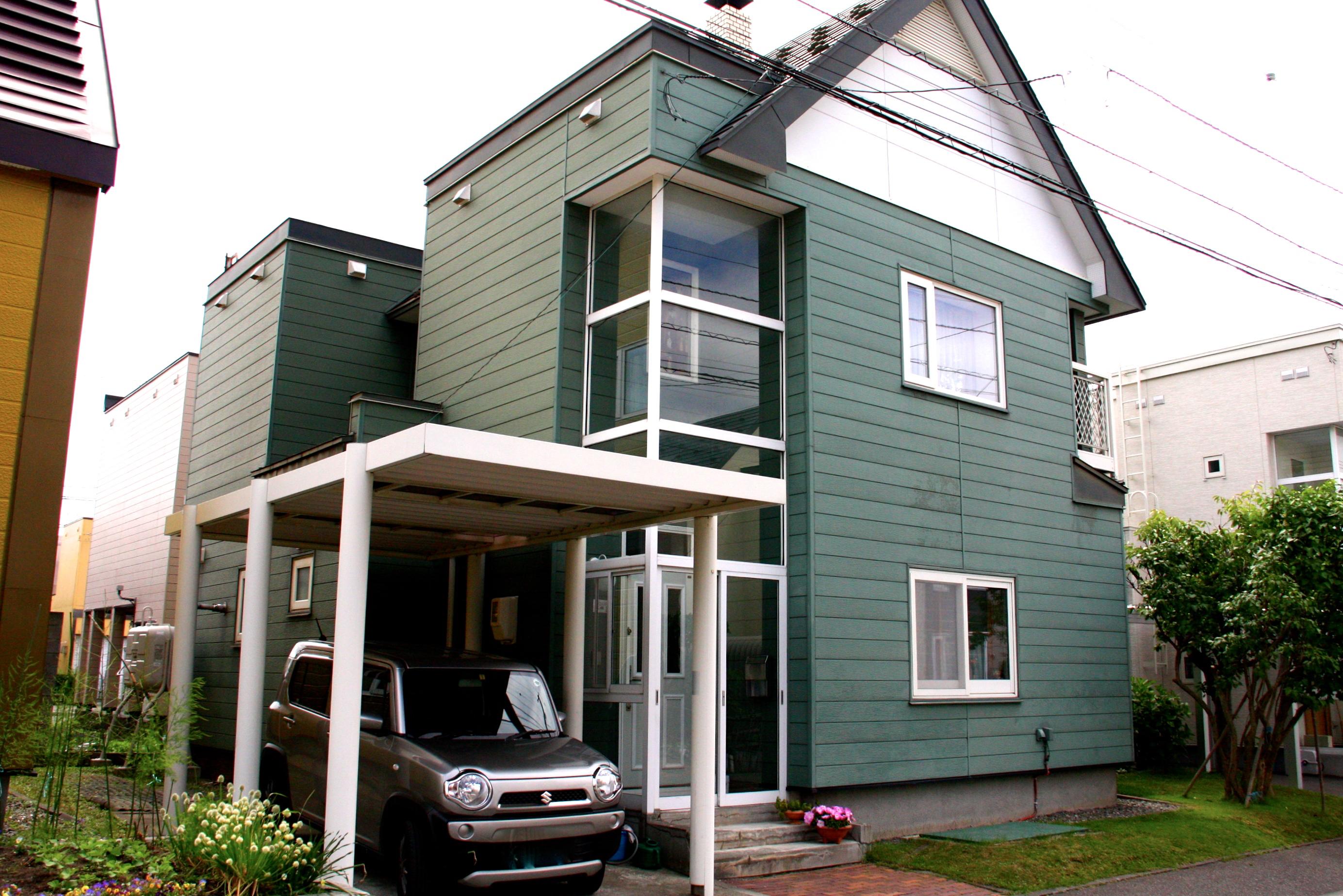塗装業社|札幌|塗り替え|施工前|