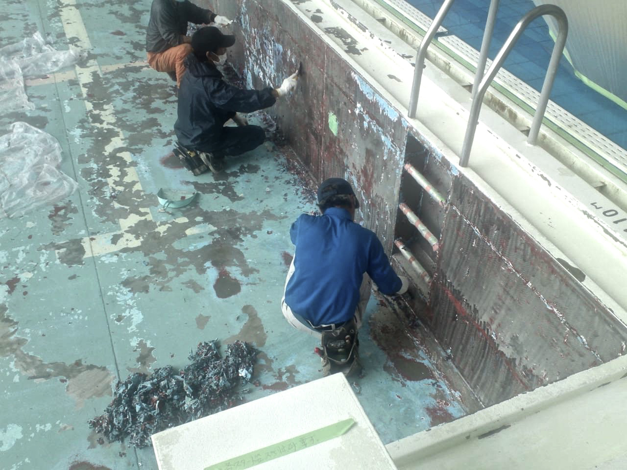 札幌|塗装業者|プール|ジャパンウェーブインダストリー|