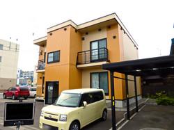 札幌市 外壁塗装 施工例 ジャパンウェーブインダストリー 