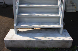札幌市 リフォーム 鉄骨階段 修繕 