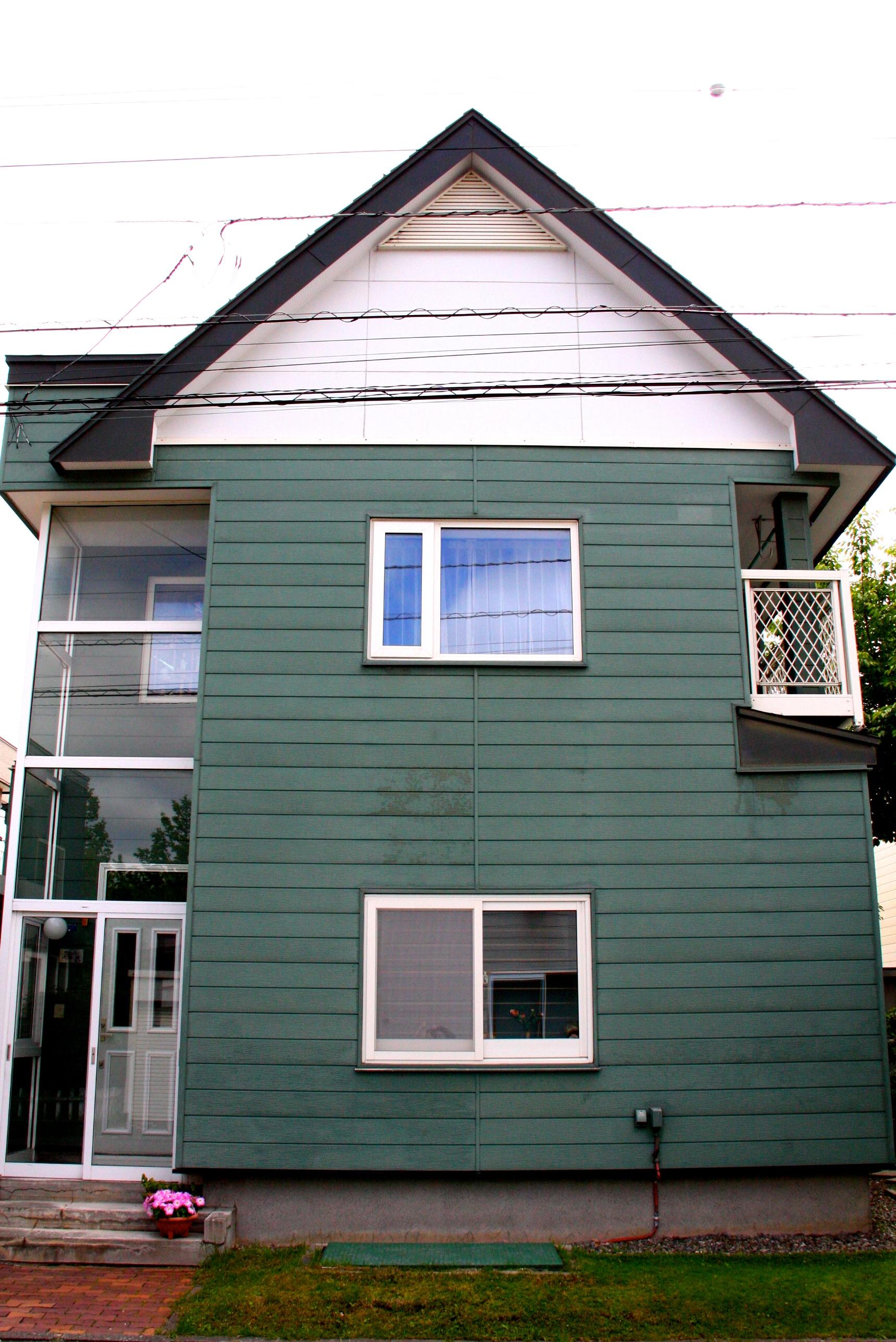 札幌市|塗装|ビフォーアフター|施工前|