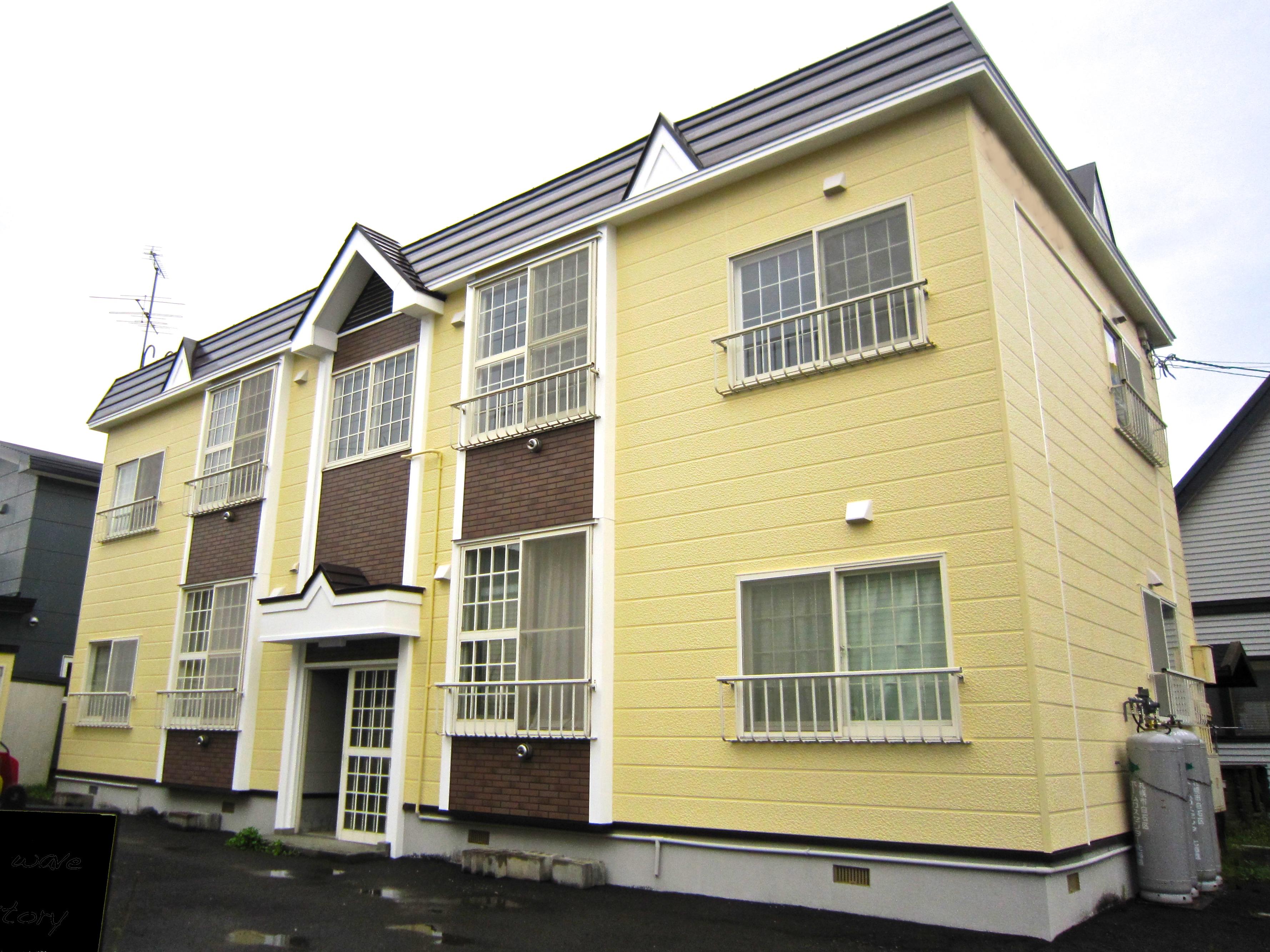 外壁塗装|札幌市|ジャパンウェーブインダストリー|施工例|