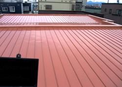 札幌市 屋根 塗装 施工後 