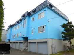 外壁塗装 札幌市 アパート ビフォーアフター 
