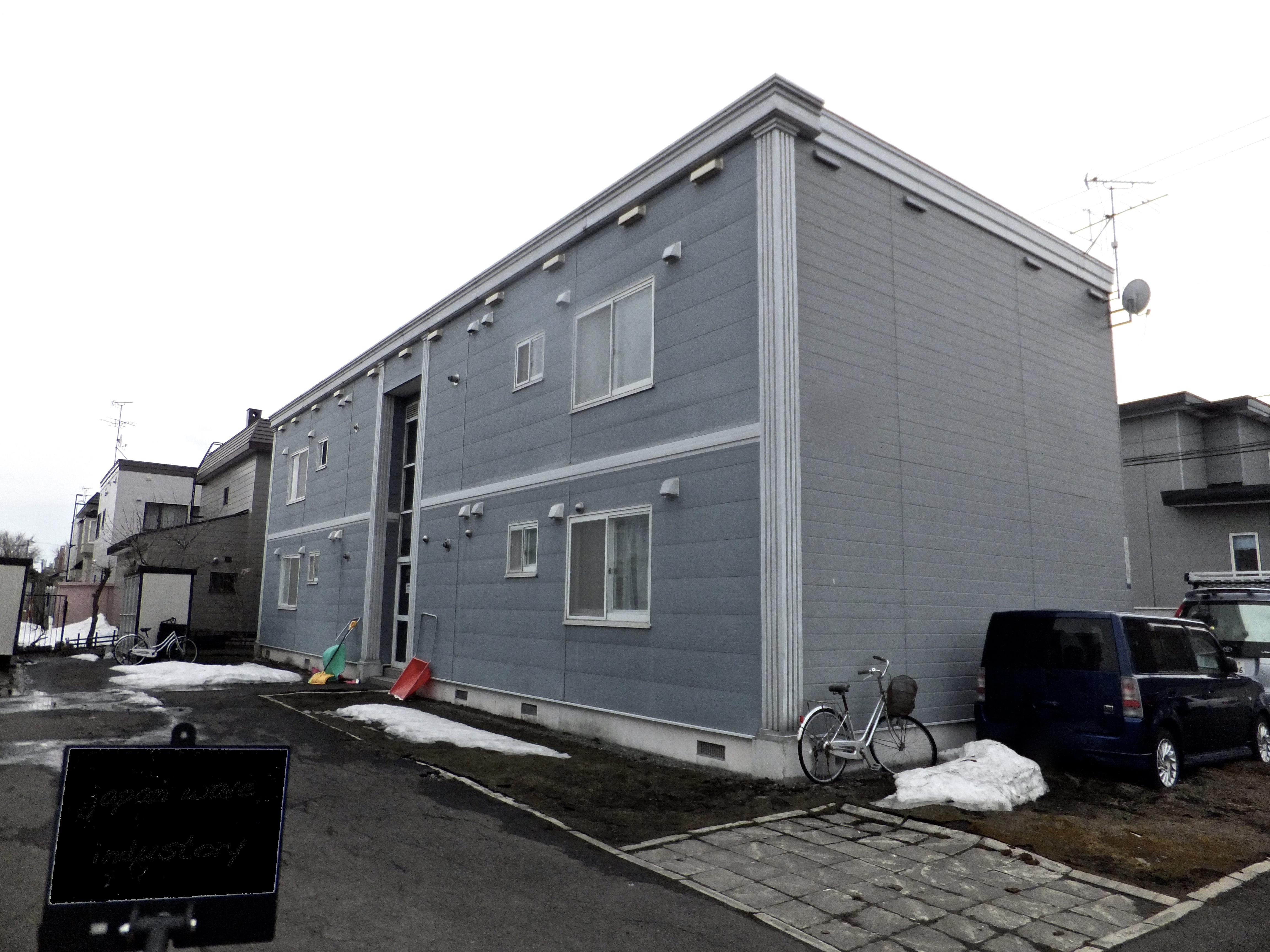 札幌市|塗装業社|施工例|ジャパンウェーブインダストリー|