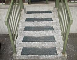 札幌市 リフォーム 鉄骨階段 塗装 