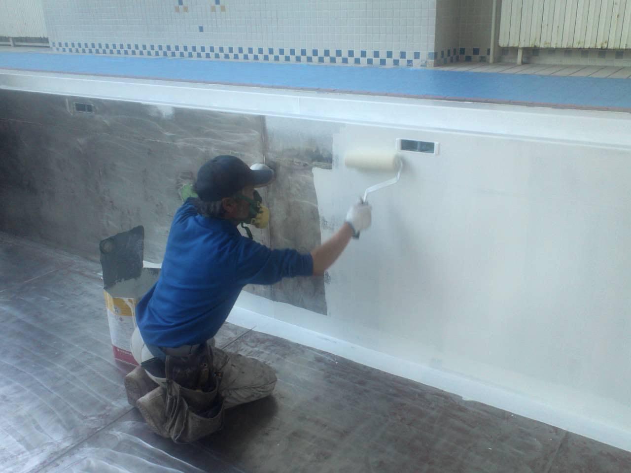 プール|工事|札幌|塗装