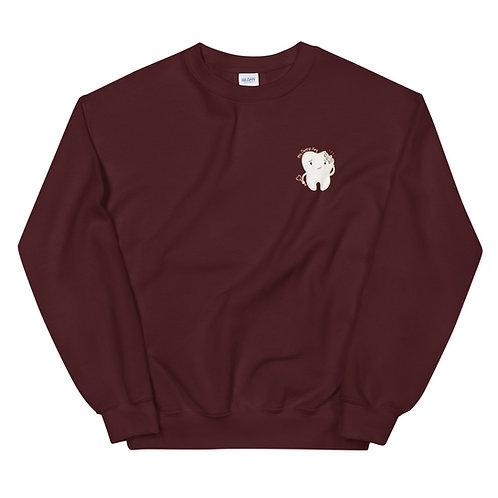 Tooth Crew Neck Sweatshirt