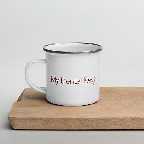 My Dental Key Enamel Mug
