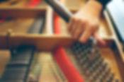 Tuning a Piano / Piano Hammer