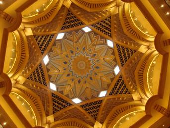 Piera Cabili_Plafond d'un mall a Dubai.J
