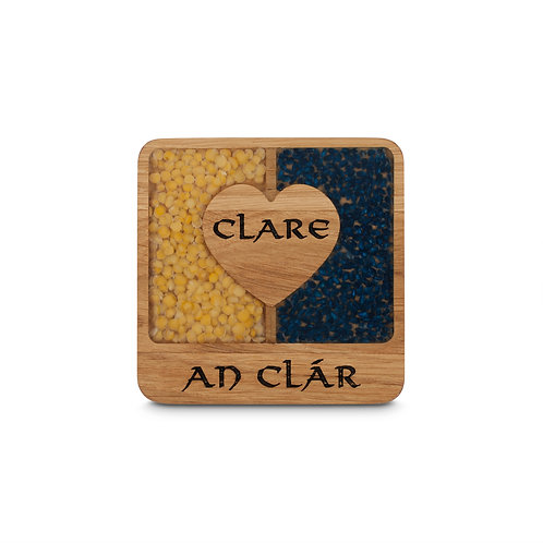 PERSONALISED COASTER - CLARE