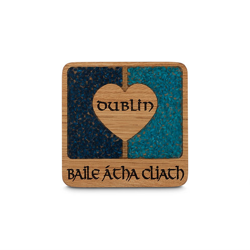 PERSONALISED COASTER  -  DUBLIN
