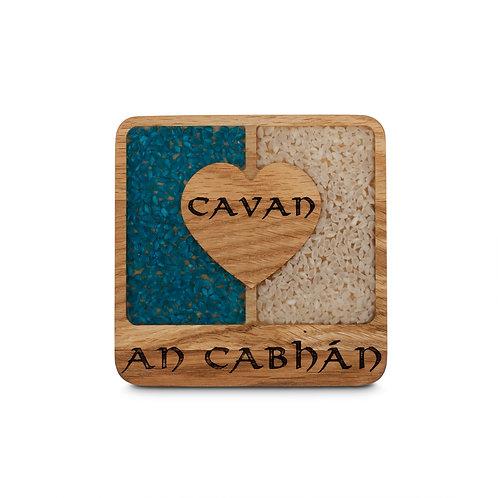 PERSONALISED COASTER - CAVAN