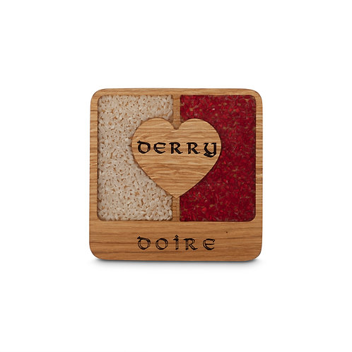 PERSONALISED COASTER -DERRY