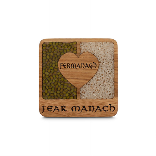 PERSONALISED COASTER - FERMANAGH