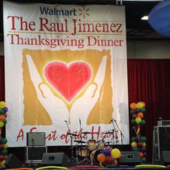 Raul Jimenez Thanksgiving Dinner 2015