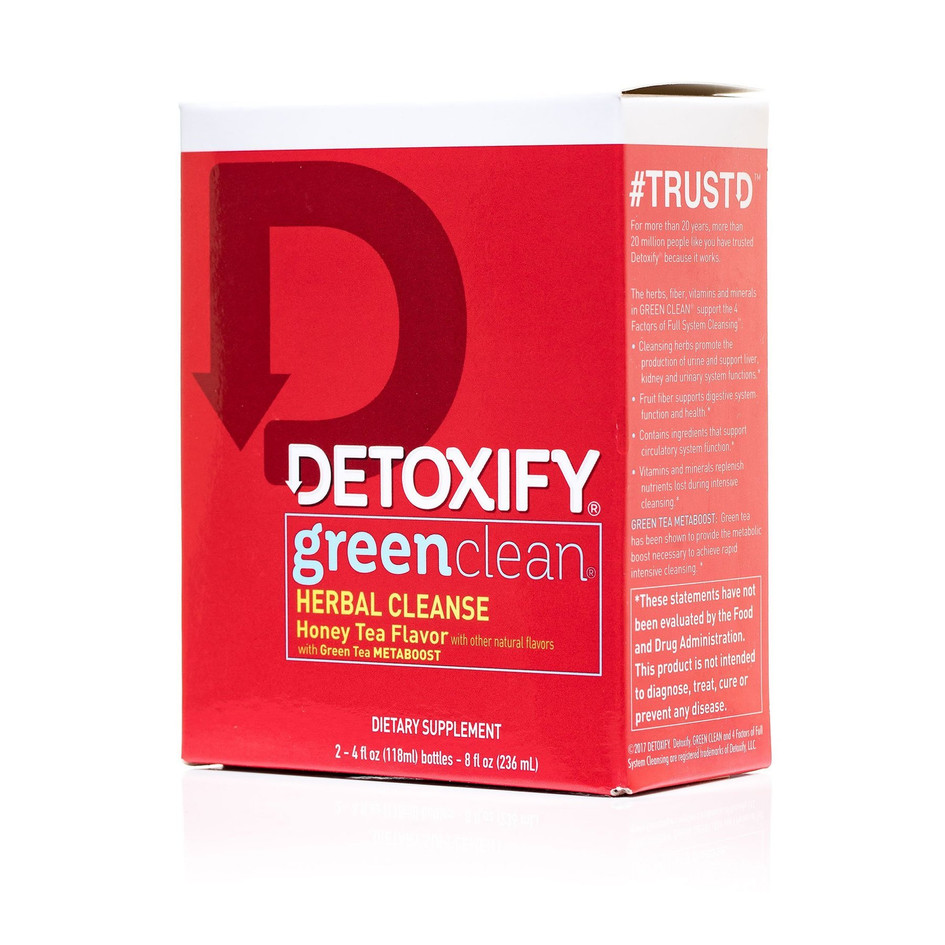 Detoxify green clean herbal cleanse fact