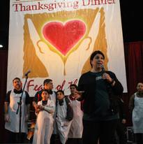 Raul Jimenez Thanksgiving Dinner 2017