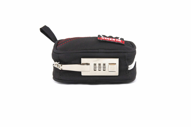 5″ OMERTA BOSS WITH LOCK – SMELL PROOF POUCH