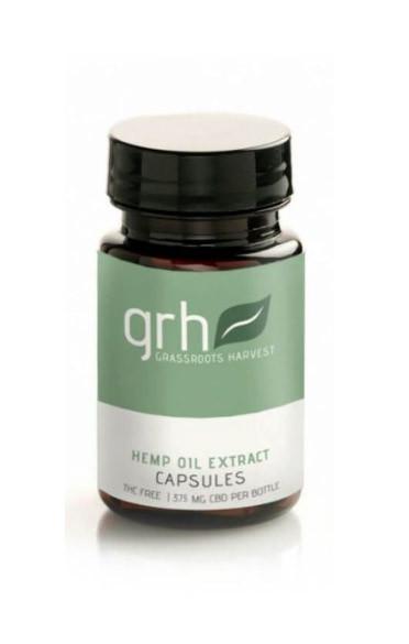 Capsule Hemp Oil Extract (CBD) Supplement (375mg/bottle)