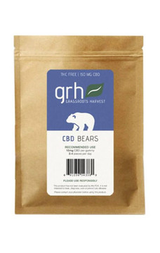 Gummy Hemp Oil Extract (CBD) Neon Bears (150mg/10pcs)