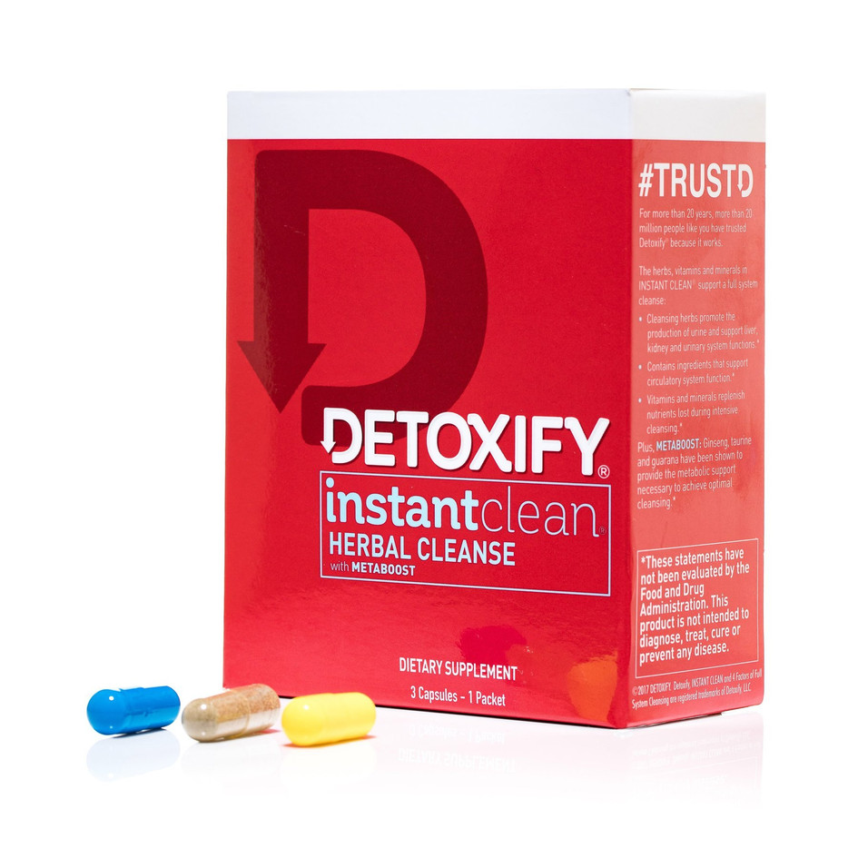 Detoxify Instant Clean Herbal Cleanse