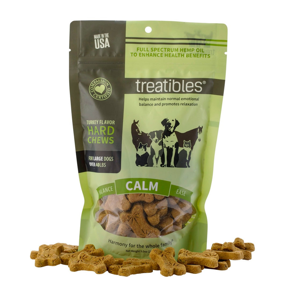 CALM cbd oil pet chews