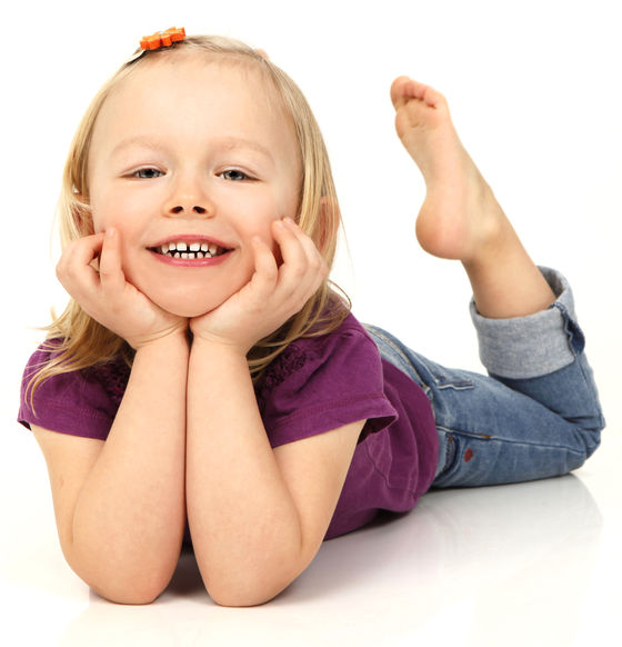 Brokkoli und Käsekeks Kinderfotografie