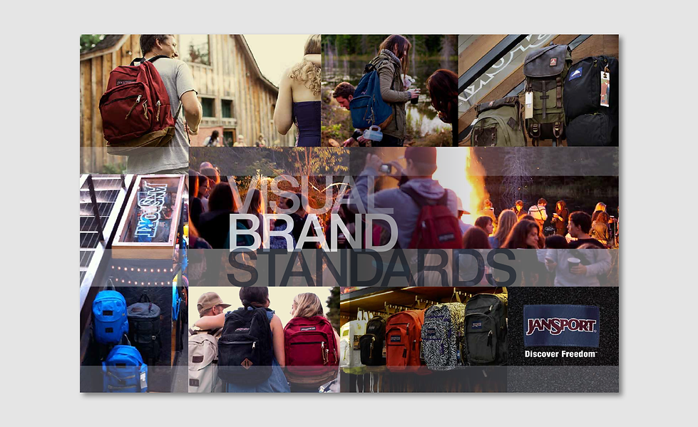JanSport Visual Brand Standards Cover