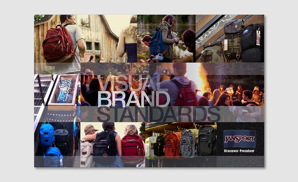 JanSport Visual Brand Standards Cover