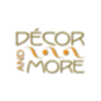 Decor & More Logo Design