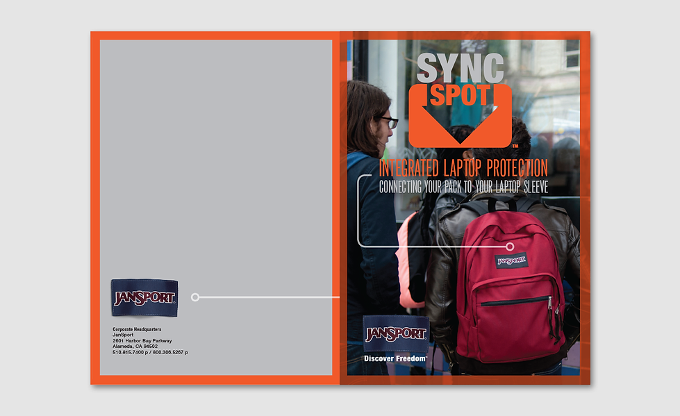 JanSport Sync Spot Cover