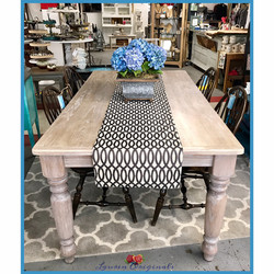 Solid Oak Farm Table