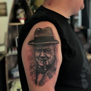 Winston Churchill Tattoo Projectinkwem.p