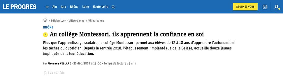 Collège_Lycée_Montessori_Lyon_Le-Progrès