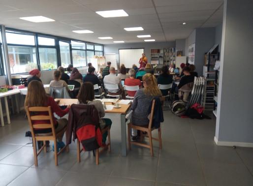 14 Avril 2019 : Première réunion des équipes Montessori AMI 12-18 ans France.