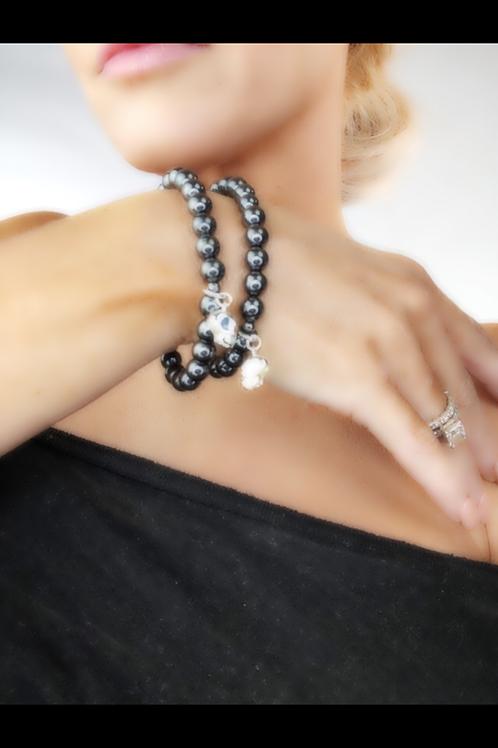 skull bead-bracelet