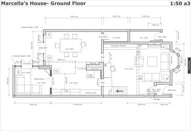 Marcellas House Ground Floor- DRESSING P