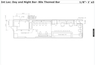 Day and Night Cafe Location- Measurement